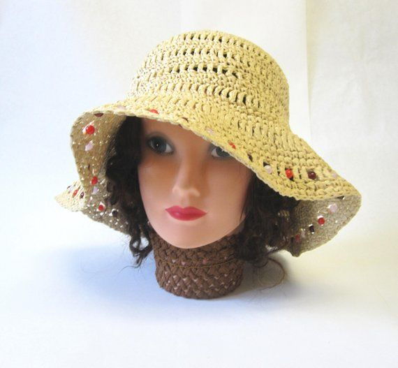5ad06aa8754b6 Woven Sun Hat Millinery Womens in 2019