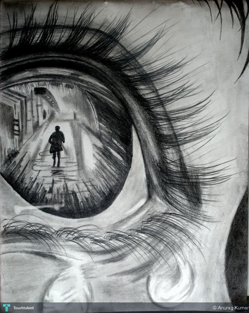 Through Her Eyes Art Drawings Sketches Creative Pencil Art Drawings Art Drawings Sketches Pencil