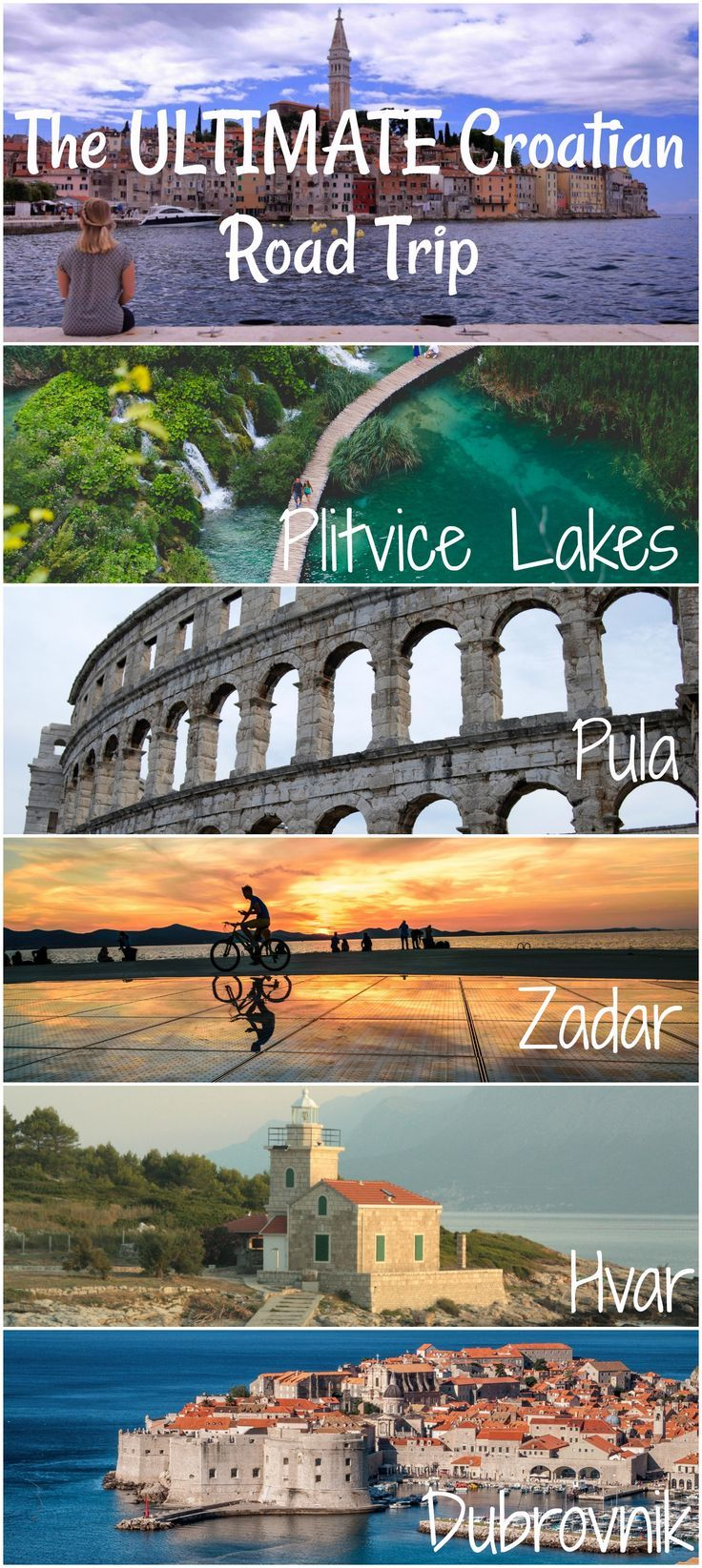 Where To Go In Croatia On Vacation Balkans Travel Trip Eastern Europe Travel