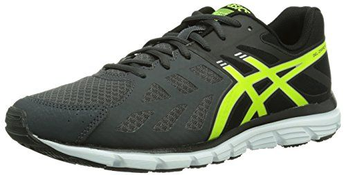 Men Running Shoes, Mens Running, Yellow Black, Asics, Color Negra, 30th,  December, Sport Clothing, Yellow