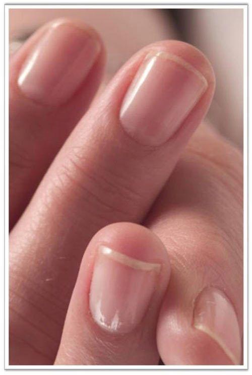 Nail Polish On Buffed Nails