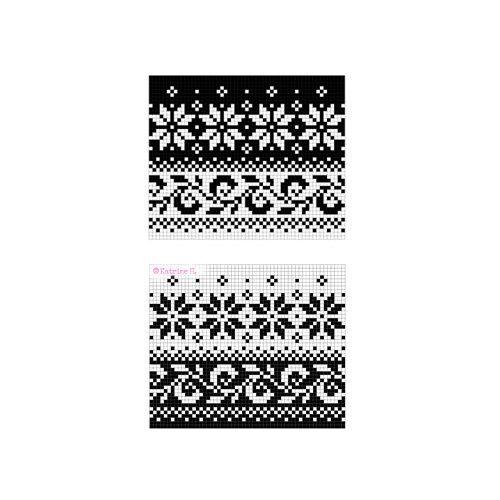 Telemark Pattern - Instant Digital Download - PDF - Traditional ...