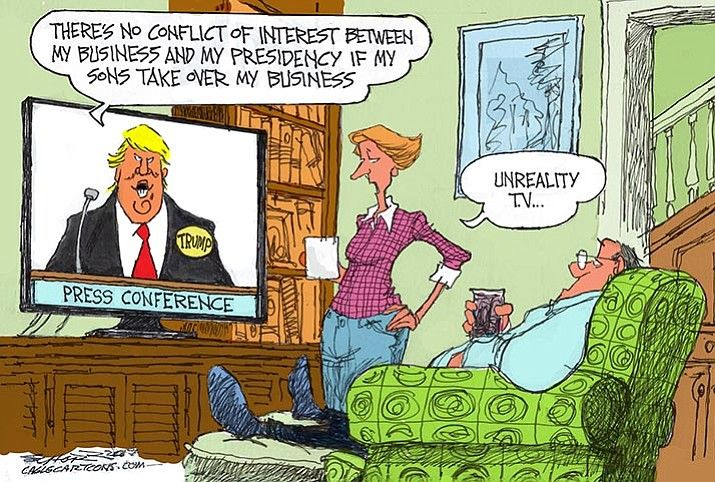 Trump - The Transition business