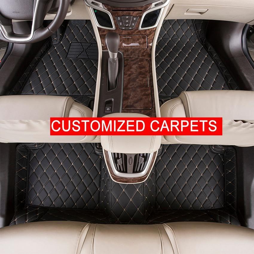 Custom Car Floor Mats Customized For Audi A1 A3 A4 A6 A7 A8 Q3 Q5 Q7
