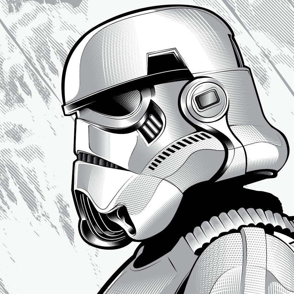 stormtrooper illustration by hydro74 stormtrooper