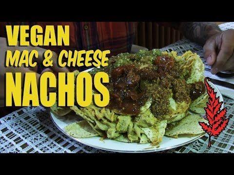 Vegan Mac Cheese Nachos The Red Fern Youtube Vegan Nachos Vegetarian Vegan Recipes Nachos Recipe
