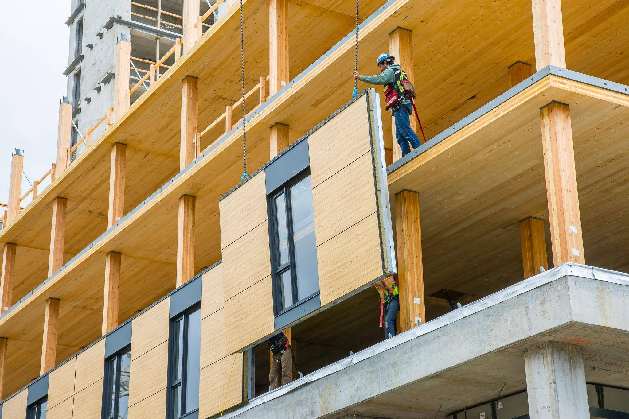 High Rise Construction - The Return to Wood | Timber buildings, Timber  architecture, Wood building