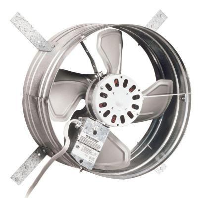 Broan 1600 Cfm Power Gable Mount Attic Ventilator 35316 Attic Fan Whole House Fan Attic Vents