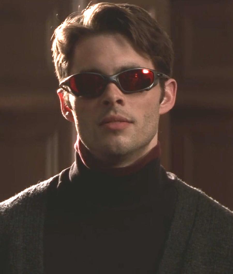 Marvel In Film N 7 2000 James Marsden As Scott Summers Cyclops X Men By Bryan Singer Cyclops X Men Bryan Singer James Marsden