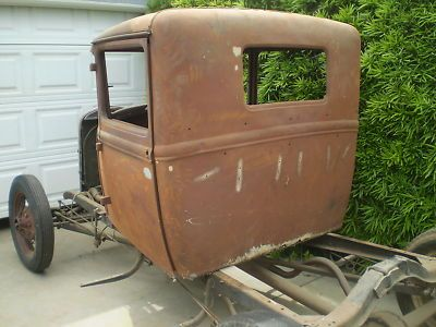 1931 Ford Model A closed cab pickup truck  1930  1931 Ford Model