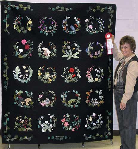 Ellen Heck Quilt Patterns Kristen Hepfner Appliqu 233