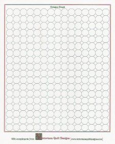 Octagon Graph Paper | Printable Octagon Quilt Graph Paper Ideas For The House