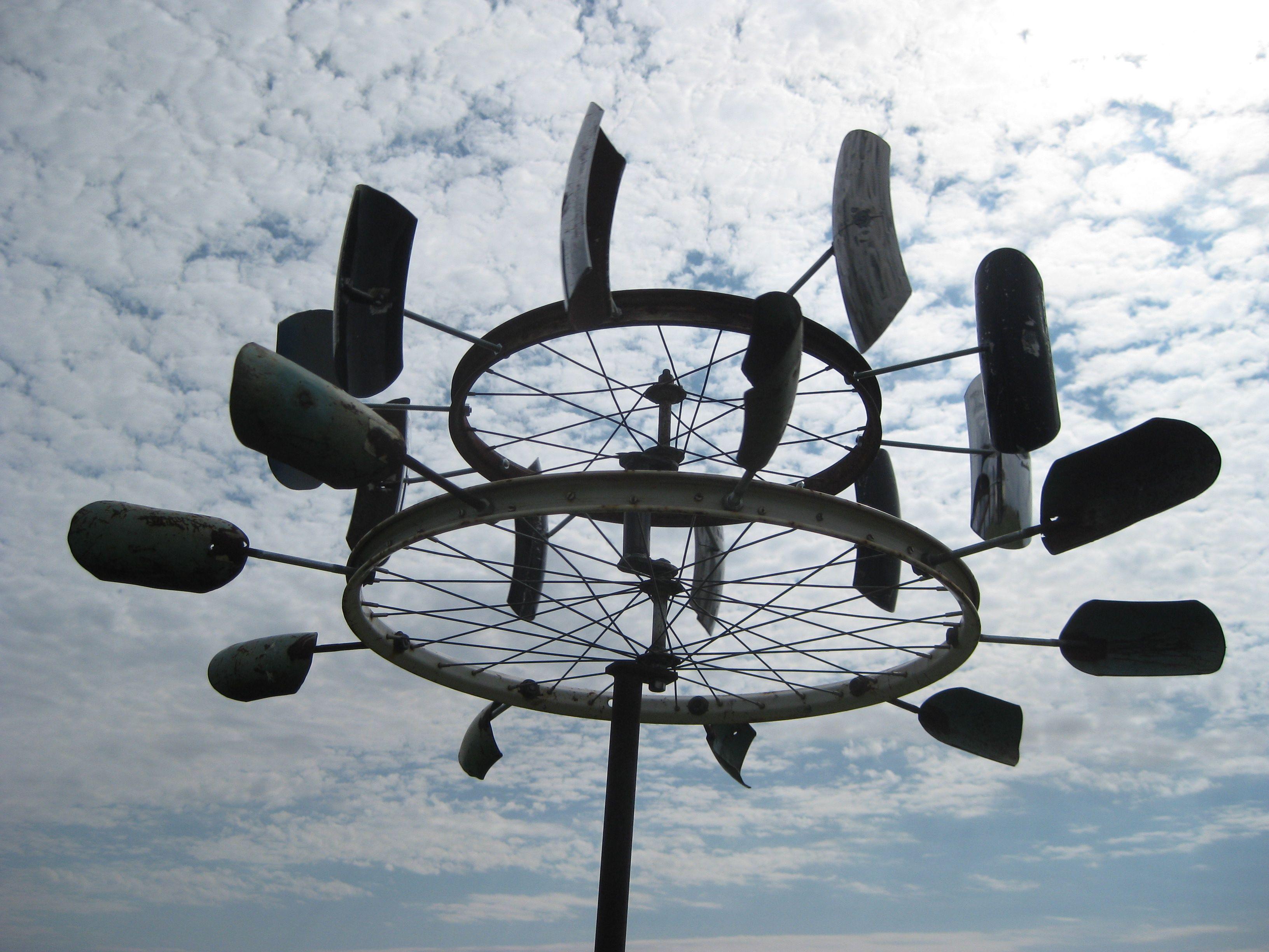 First Wind Spinner Garden Art Sculptures Wind Art Wind 400 x 300