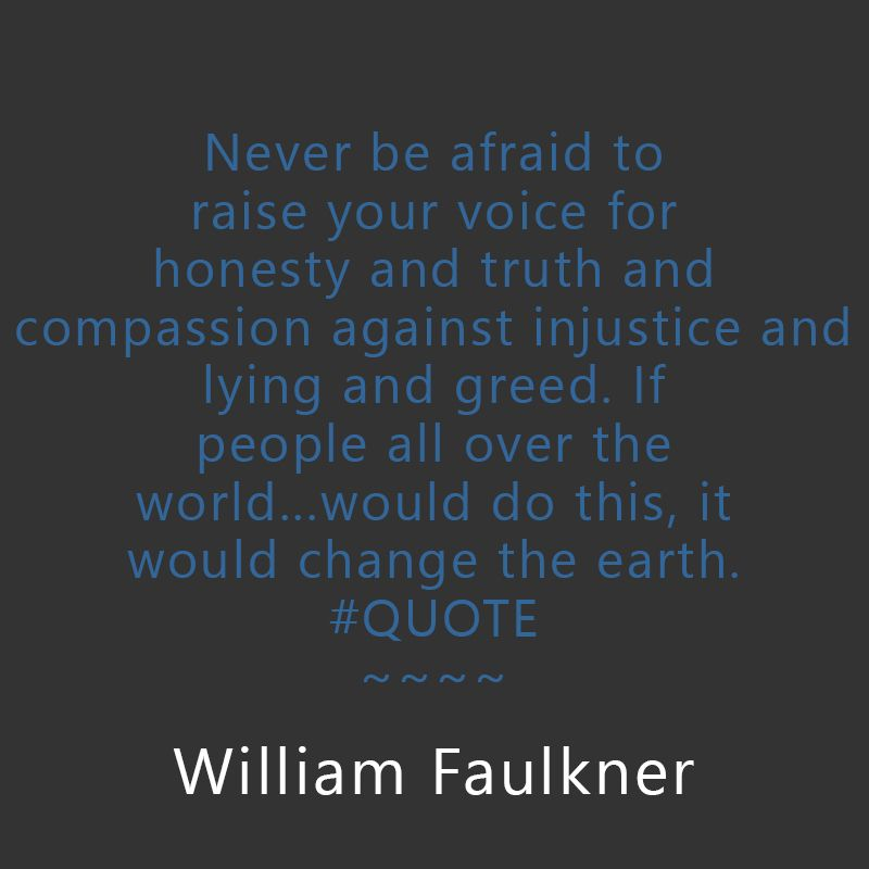 Progressive Quote Magnificent William Faulkner Corruption Quoteprogressive Quotes  Progressive