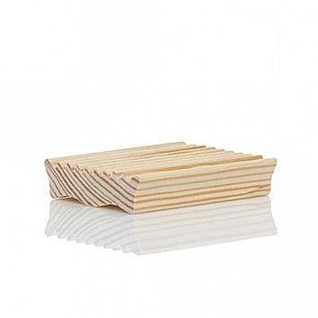 pine wood soap dish $6 designer: saipua materials: southern pine wood dimensions: 4