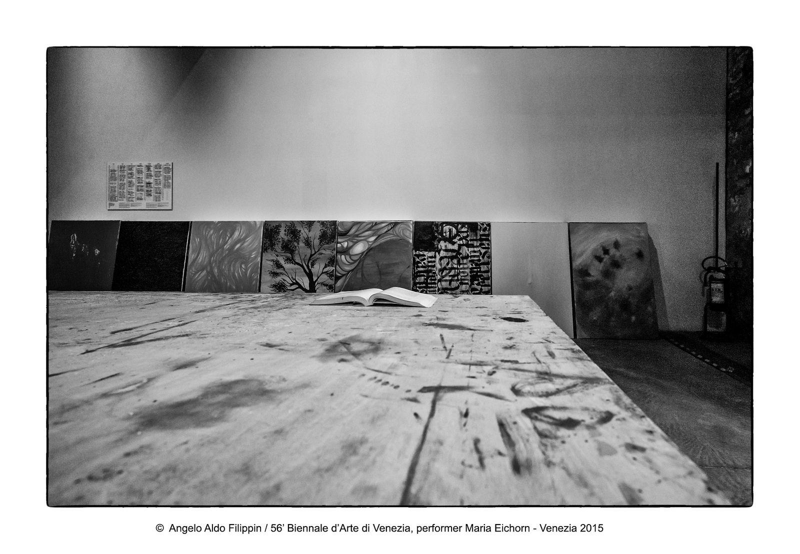 https://flic.kr/p/LC63Tv | 56' Biennale d'Arte di Venezia, performer Maria Eichorm  - Venezia 2015