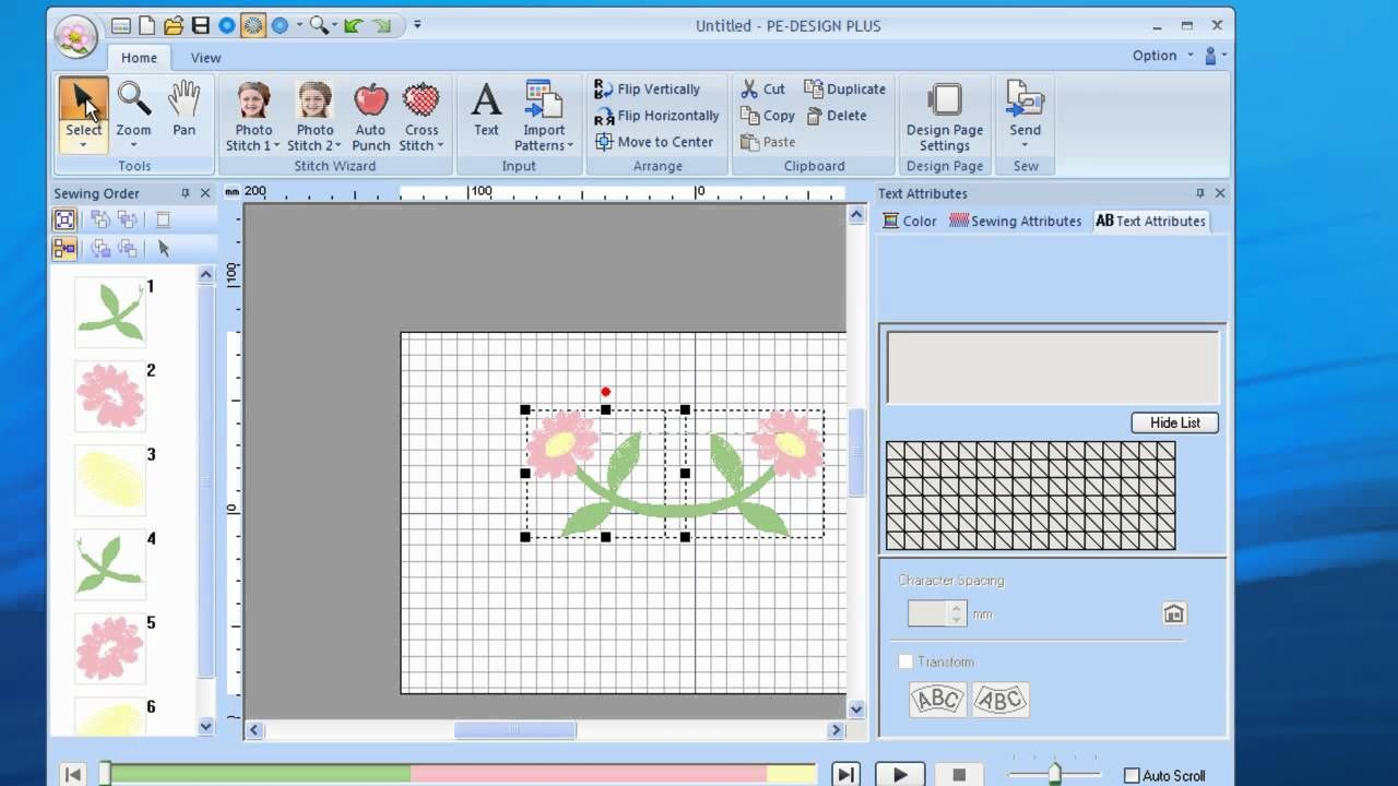 Pe Design Plus Design Manipulation Machine Embroidery Tutorials Brother Pe Design Machine Embroidery Patterns