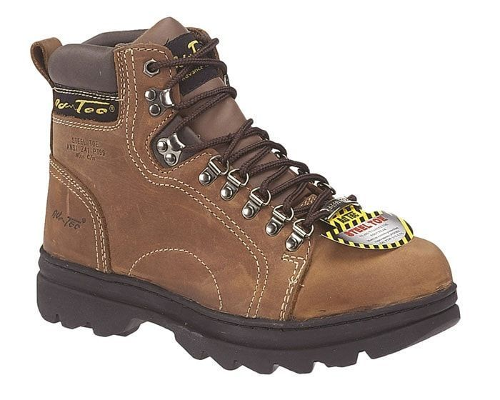 8ecc3e3dc04b2 AdTec Mens Brown 6in Steel Toe Hiker Crazy Horse Leather | Products ...