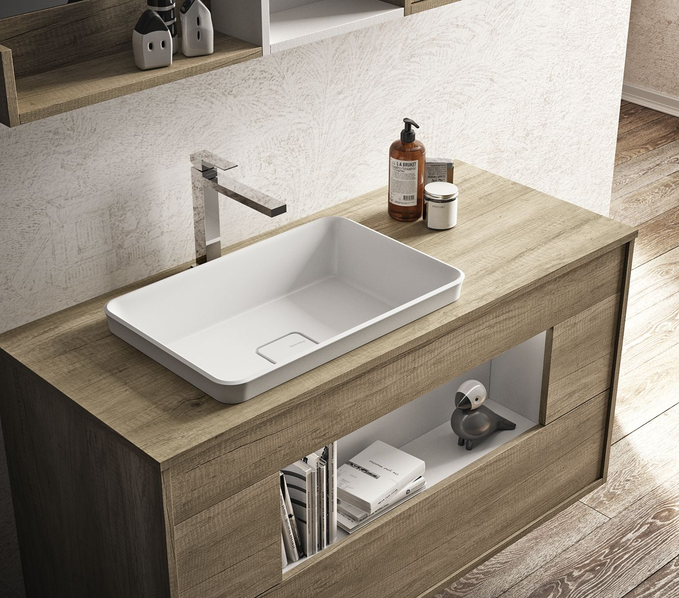 Mobile Bagno New York mastella lume bathroom cabinet line. lume cabinets from