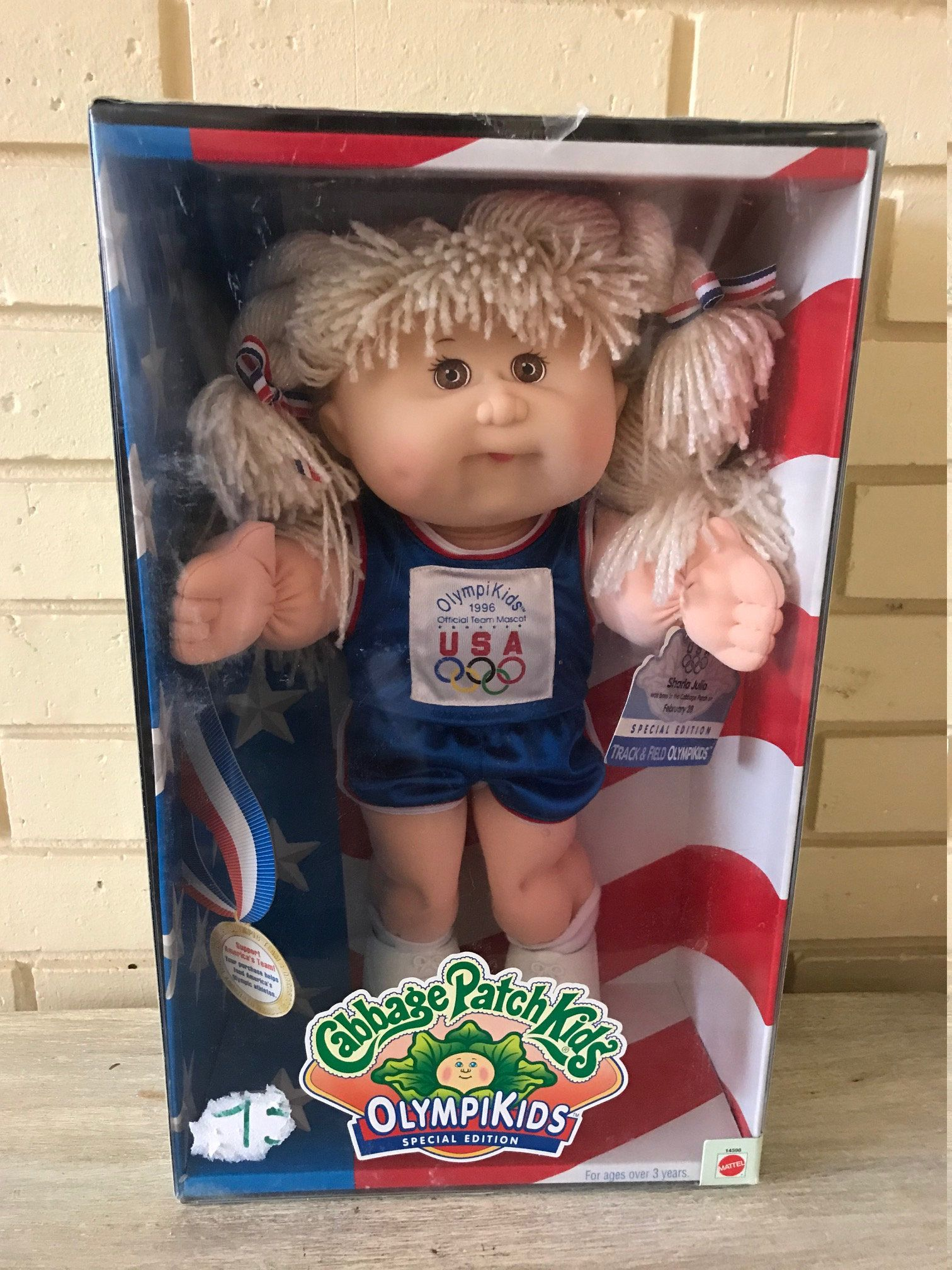 Vintage Cabbage Patch Kids Olympikids 1996 Special Edition Etsy Cabbage Patch Kids Patch Kids Kids