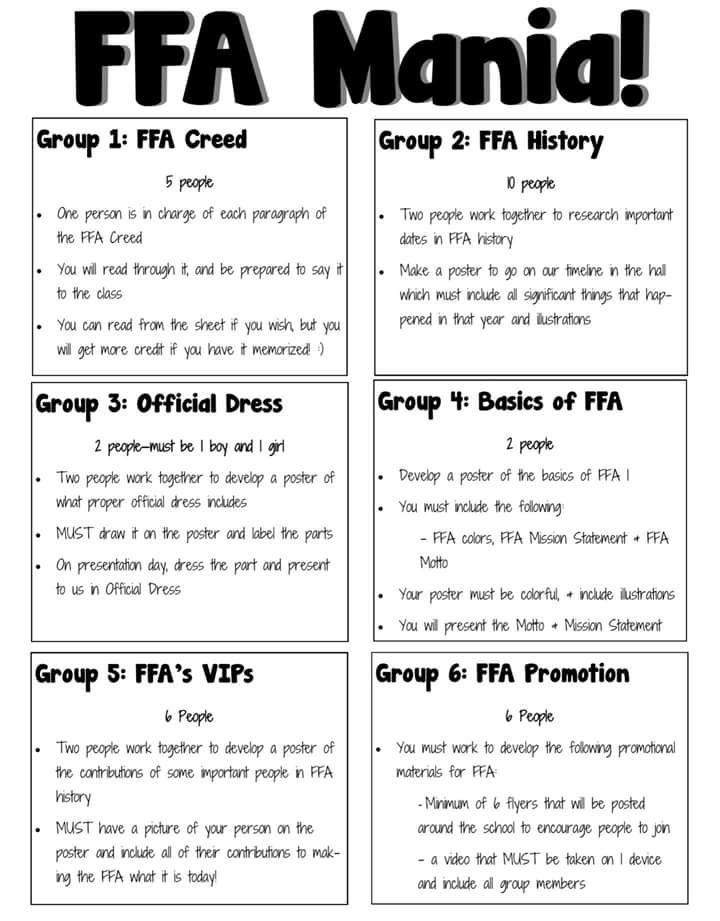 Pin By Jessica Grundy On Ffa Classroom Agriculture Education