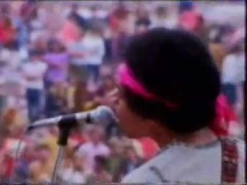 Jimi Hendrix - Purple Haze, Live in Colour. -- Live Rock -- http://pinterest.com/realestatemogul/live-rock-performances/