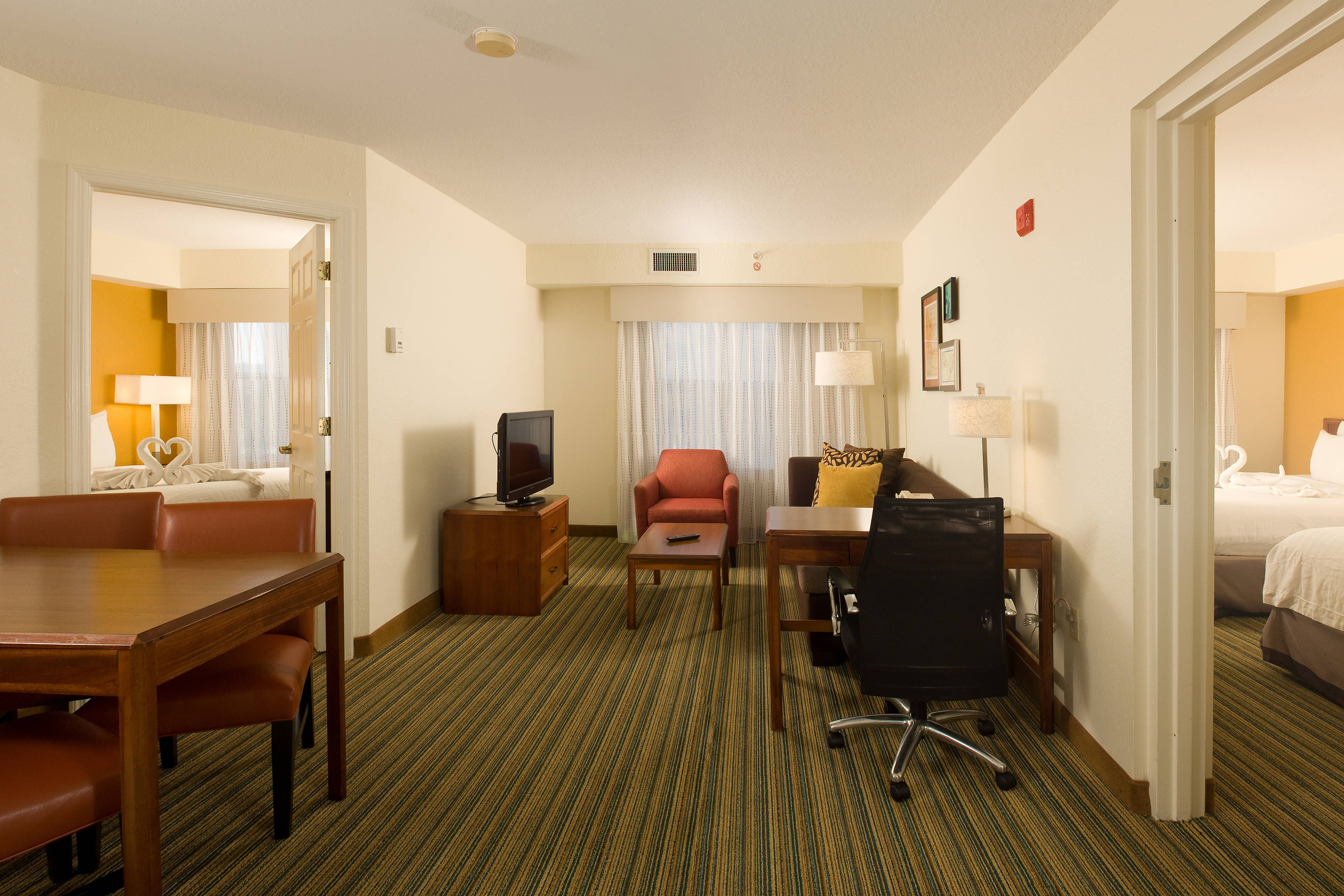 Residence Inn Orlando Convention Center Larger Two Bedroom Suite