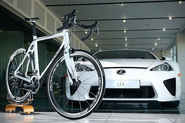 Delicieux Lexus LFA Carbon Fiber F Sport Road Bike