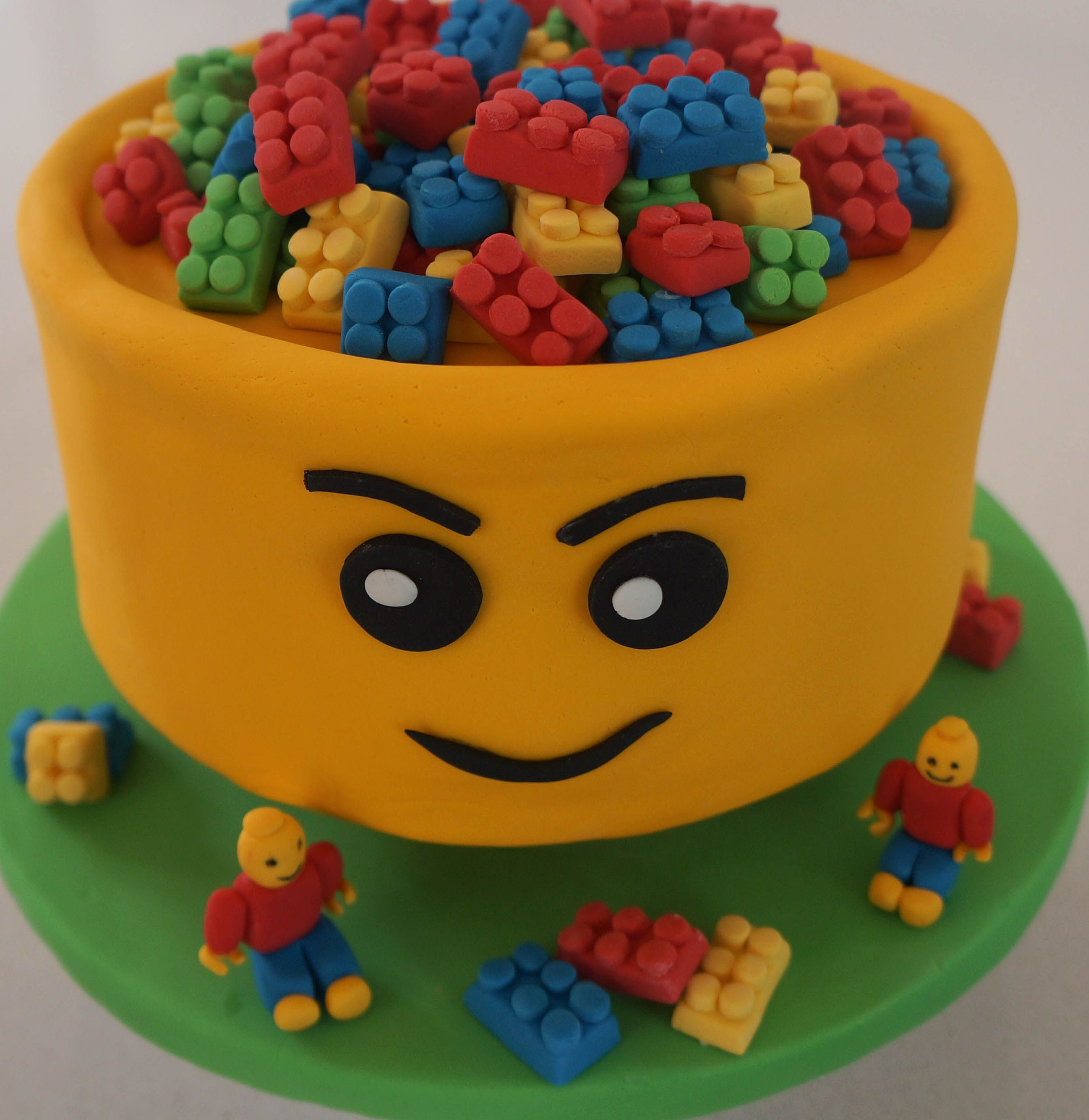 Lego cake made by Cake Occasions Auckland New Zealand www