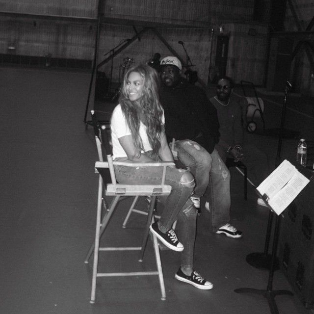 Beyonce wearing Converse Chuck Taylor All Star c173d33a9ad4