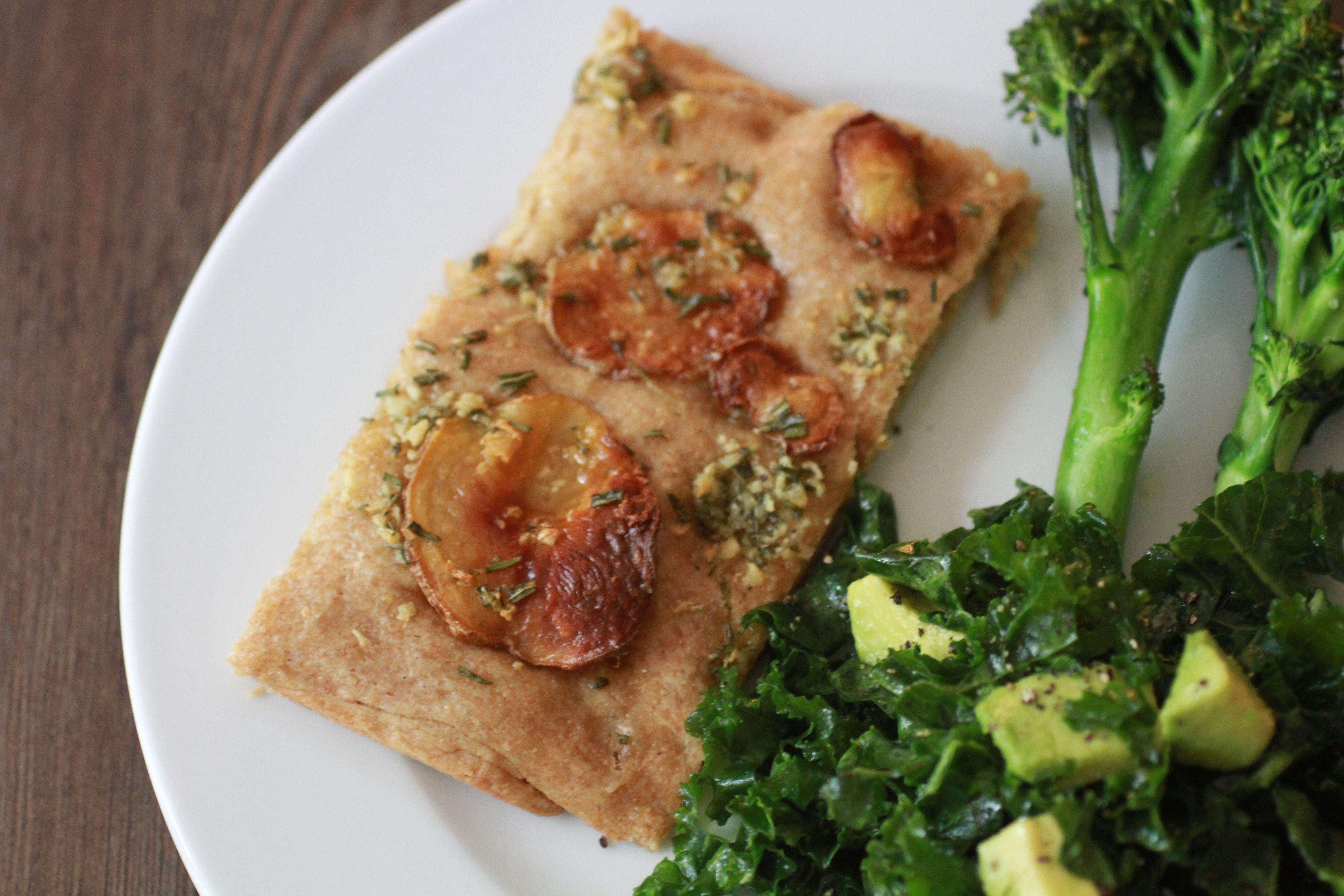 Potato, Rosemary and Garlic Focaccia | WeeklyGreens.com