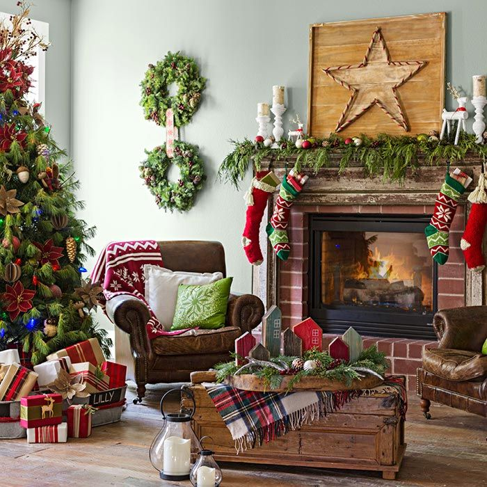 Christmas Living Rooms – Stimulating Ideas & Tips of the Year ...