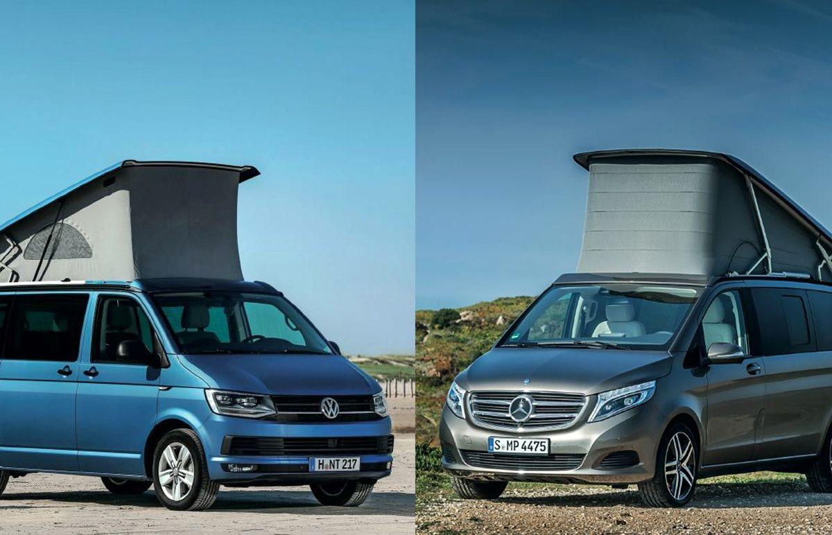 Ces Deux Vans A Toit Relevable Sont Directement Commercialisees