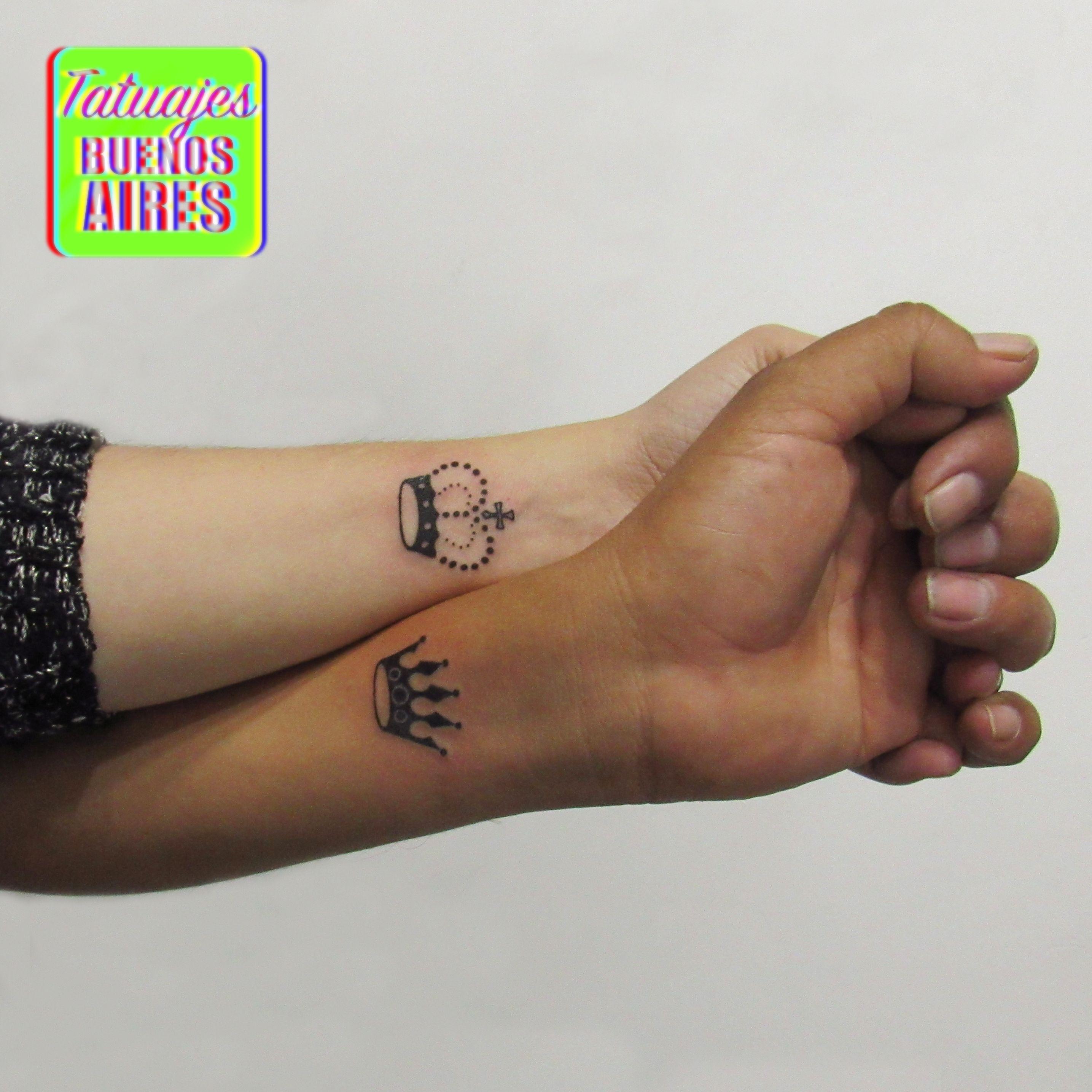 Tattoo Corona Rey Y Reina Parejas Realizado Por Jose Luis Segura En