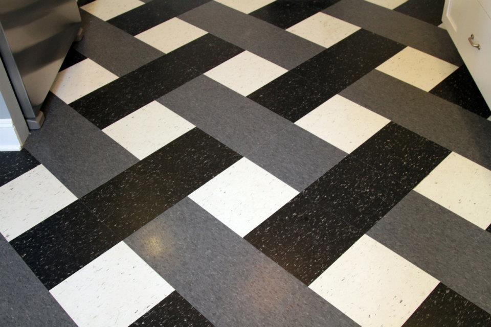 Vct tile patterns bing images lobby flooring for Patterned vinyl flooring