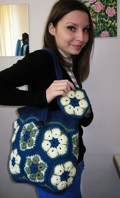 Ravelry African Flower Purse Pattern By Darlisa Riggs Crochet