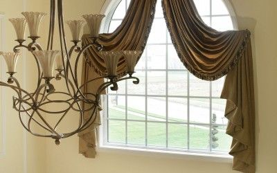 Arched window treatments 1120x1600 arched two story foyer arched window treatments design ideas