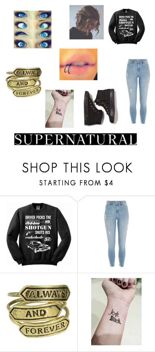 """""""SUPERNATURAL"""" by blackshadows-i on Polyvore featuring River Island and Keds"""