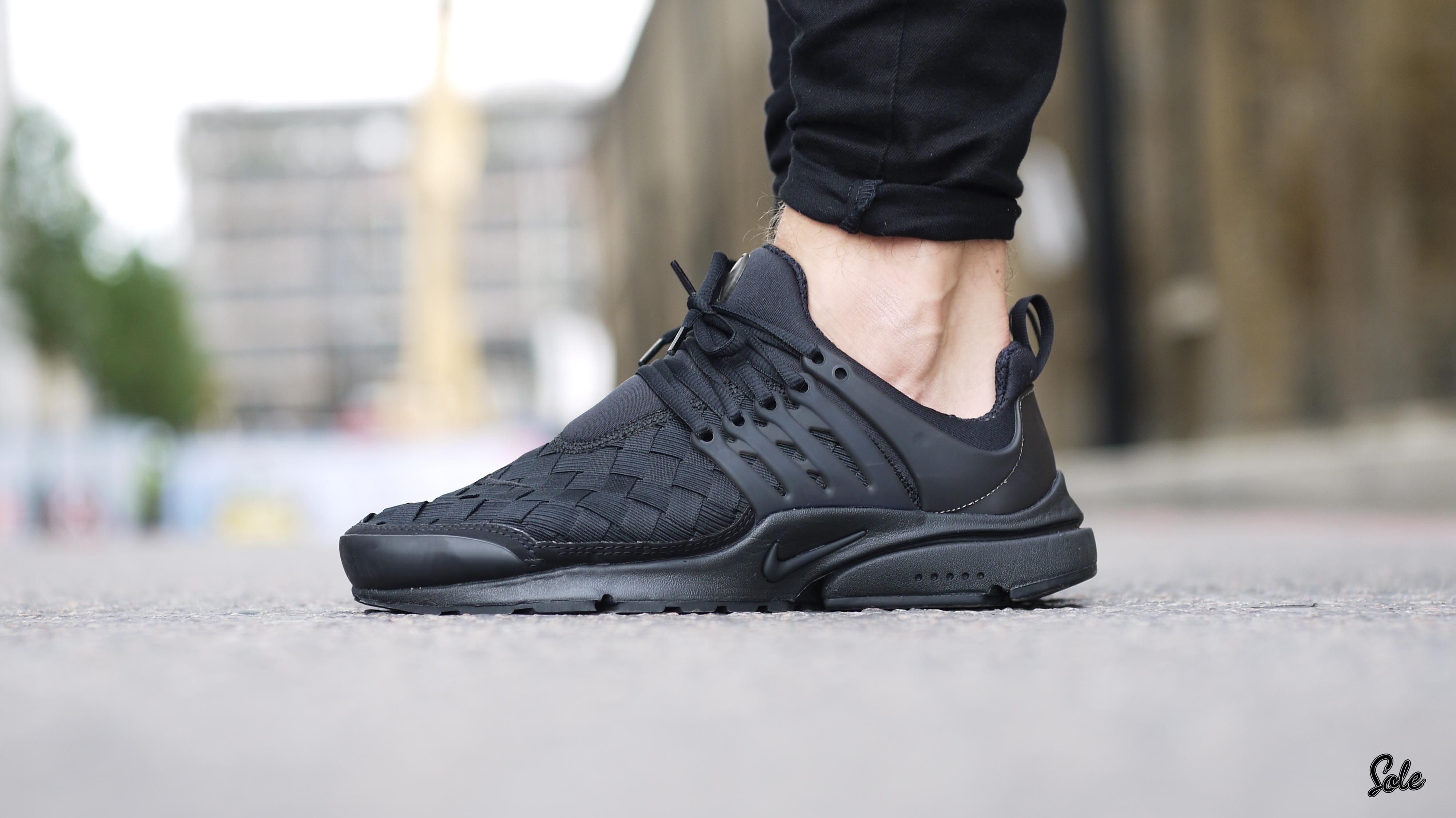 Air Presto Woven Black | Presto | Pinterest | Air presto