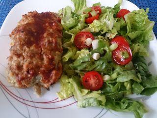 Suzanne's Kitchen : Turkey or chicken meatloaf