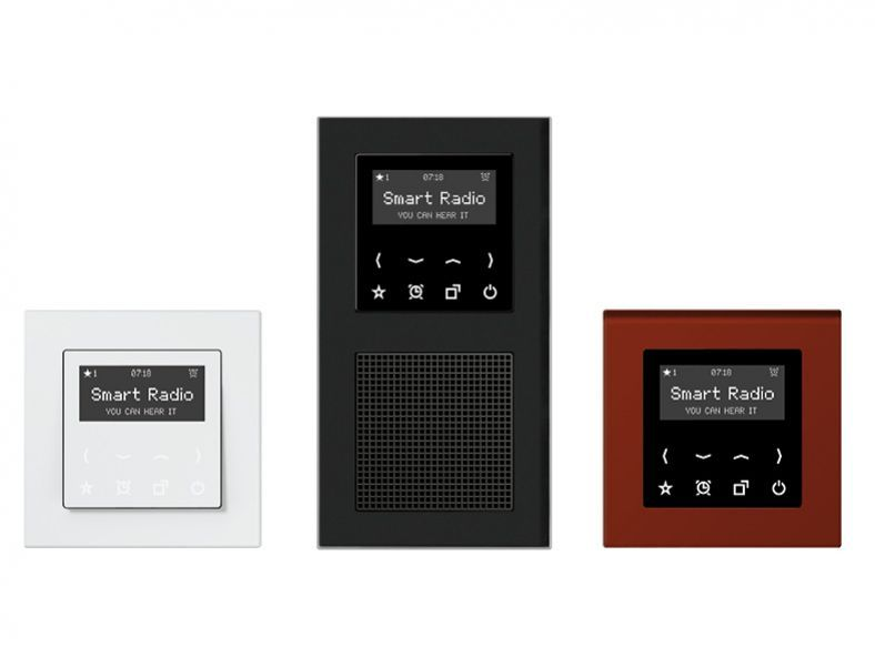 Jung Smart Radio: Das Schönere Einbauradio Von Albrecht Jung ... Hi Tech Badezimmer Ausstattung Wc Terminal