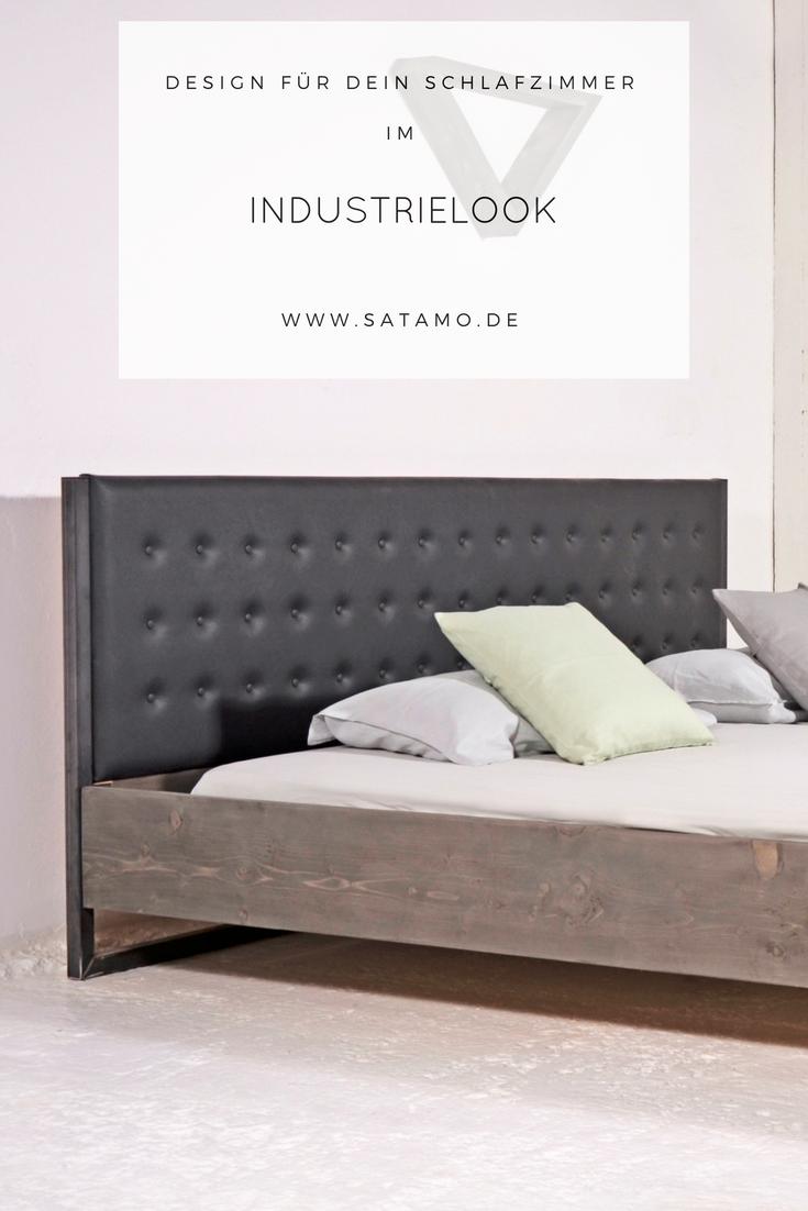 bett industrial design jetzt online entdecken. Black Bedroom Furniture Sets. Home Design Ideas