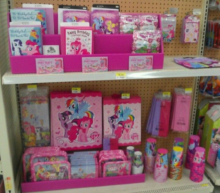 Little Pony Birthday Invitation Decorations Walmart
