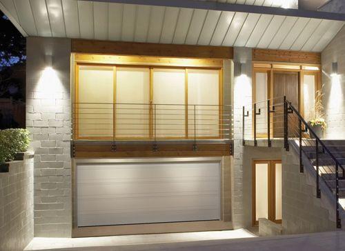 Garaga - Top Tech garage door model grooved tex white & Garaga - Top Tech garage door model grooved tex white   Mountain ... pezcame.com