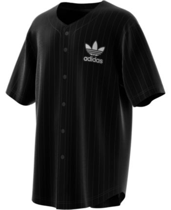 0d46edd01f6 adidas Men's Jacquard Baseball Jersey - Black XL | Products in 2019 ...