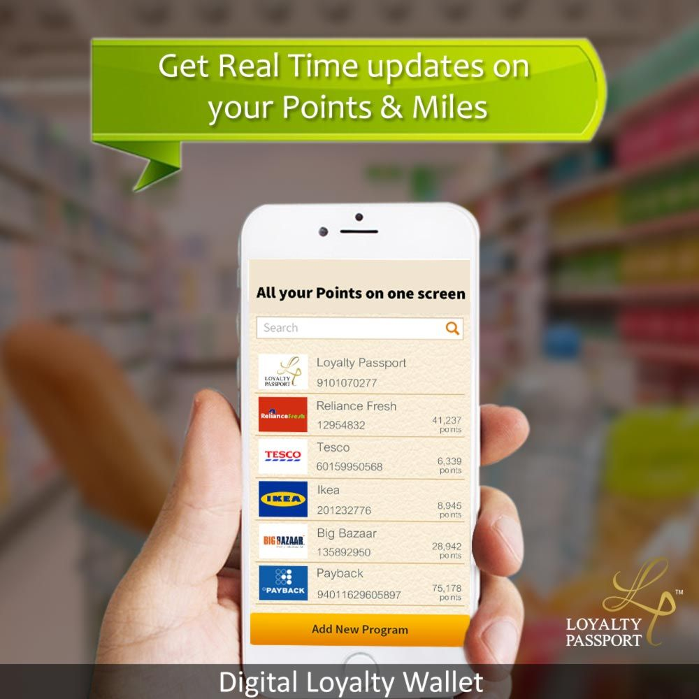 Loyalty Passport Your smarter eWallet! The easiest and