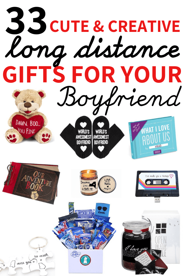 33 Cute Gifts For Long Distance Boyfriend To Surprise Your Man With Long Distance Relationship Gifts Distance Relationship Gifts Boyfriend Gifts Long Distance