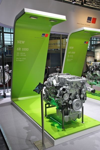 New Exhibition Stand Design : Projects new exhibition concept for engine manufacturer