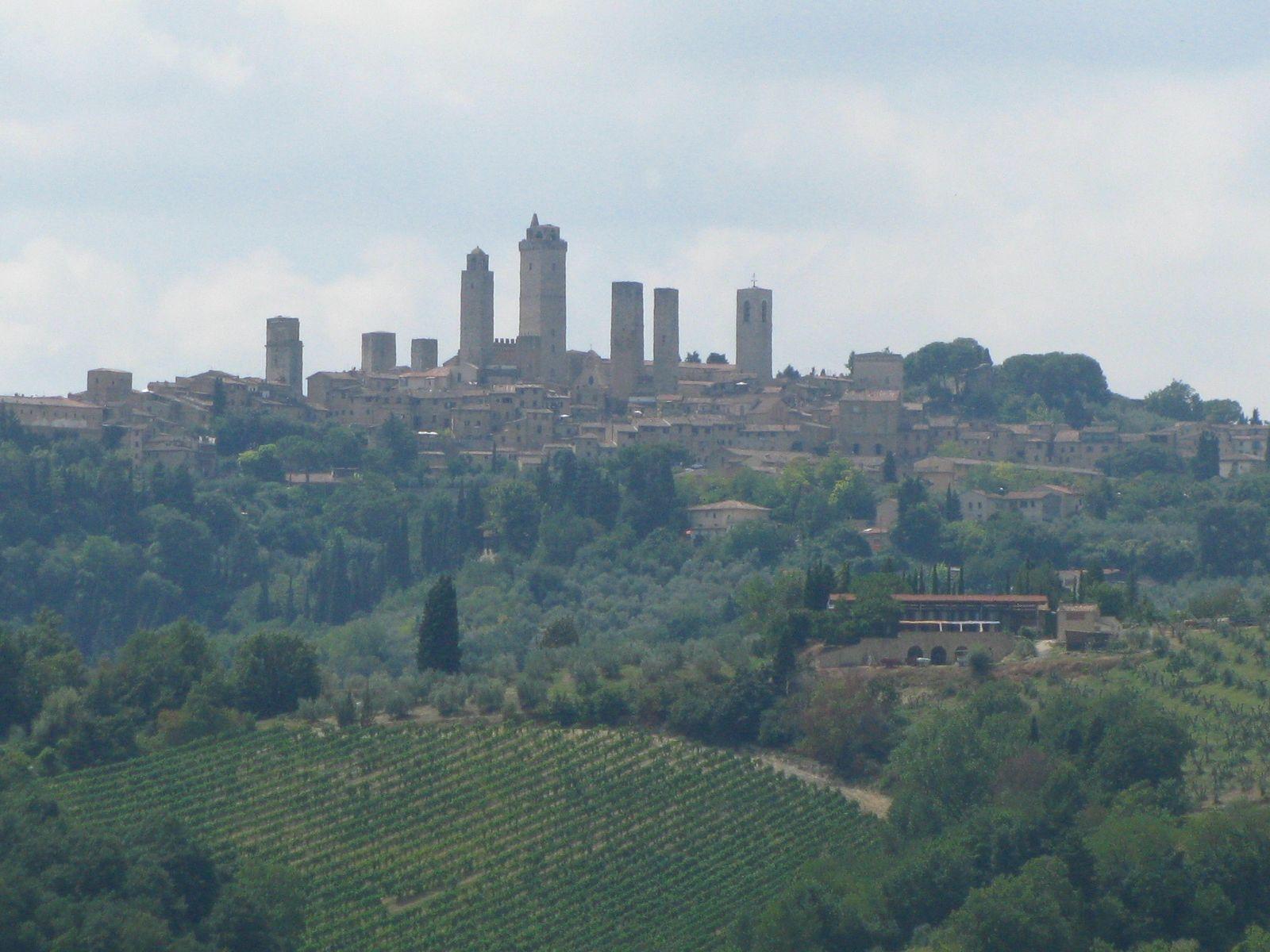 San gimignano towers, Italia