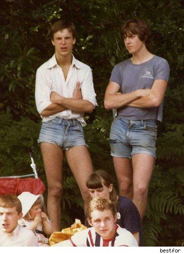 1970's men's shorts - Still waiting on an apology 70's ...